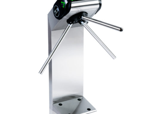 Turnstile TTR-08 – Stylish all-rounder with RFID and barcode option